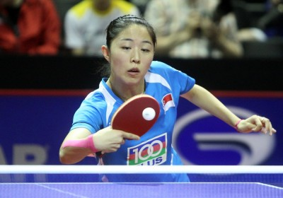 Yu Mengyu signs a one year deal with Tennis de Table Saint-Quentinois
